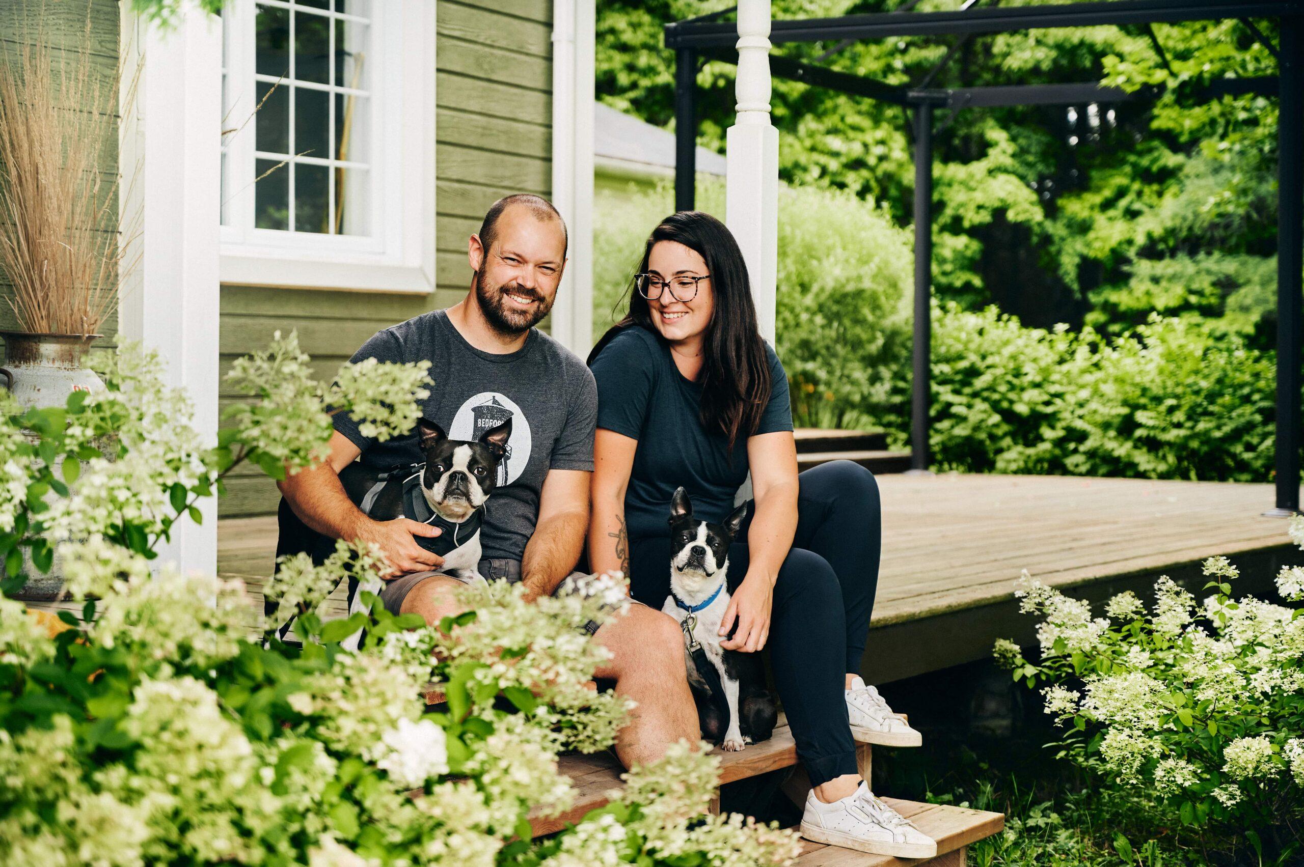 Des histoires de vie à faire rêver!   Daphné Caron et Nicolas Gauthier